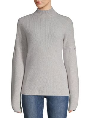 Long-Sleeve Cashmere...