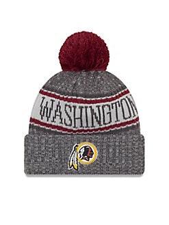 07d53677f QUICK VIEW. New Era. NFL Sideline Washington Pom-Pom Beanie
