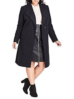 f1800d07eb6 Plus Size Coats  Raincoat
