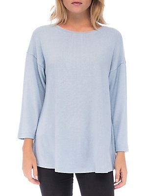 983bca848 B Collection by Bobeau - Emmy Pleat Back Pullover - lordandtaylor.com