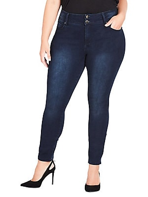 fda2b00c13e2e City Chic - Plus Harley Skinny Jeans