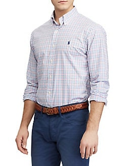 a89aa6ca041721 Product image. QUICK VIEW. Polo Ralph Lauren. Slim-Fit Gingham Shirt