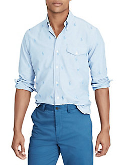 43e3bbbd65b3 Oxford Cotton Button-Down Shirt BLUE. QUICK VIEW. Product image. QUICK  VIEW. Polo Ralph Lauren
