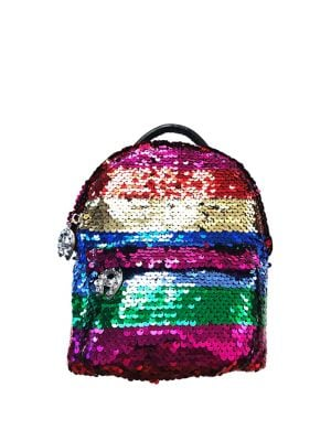 c7f4a07f9f652 Betsey Johnson - Mini Spectrum Spectacular Sequin Backpack