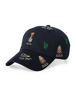 a77344fe98c QUICK VIEW. Polo Ralph Lauren. Great Outdoors Bear Cotton Baseball Cap