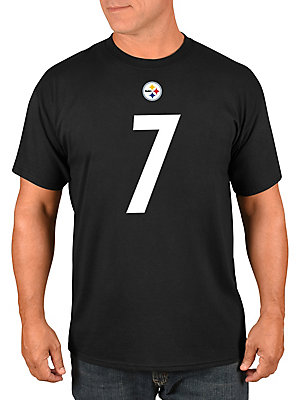 b2d93c53cb9 Majestic - Ben Roethlisberger Pittsburgh Steelers NFL Eligible Receiver III  Cotton Jersey Tee - lordandtaylor.com