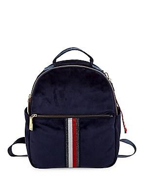 139c7100 Tommy Hilfiger - Isa Velvet Backpack - lordandtaylor.com