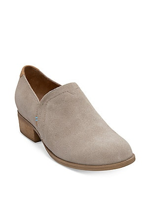 40f1d8d5bde Toms - Women's Shaye Suede Ankle Booties