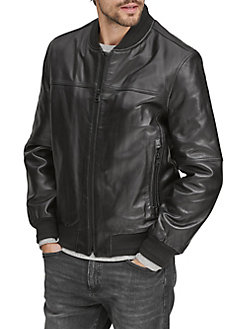 e2cf3132ef4 QUICK VIEW. Marc New York. Summit Leather Bomber Jacket