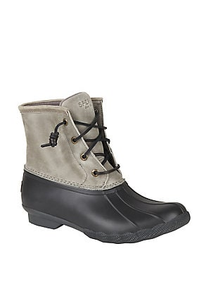 a4acbbf4815 Sperry - Saltwater Leather Duck Boots