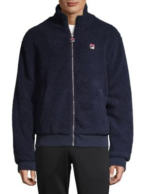 7a83a2c73428 FILA - Lifestyle Finch Faux Shearling Jacket