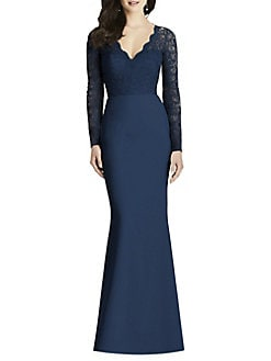 1157846ad256 Product image. QUICK VIEW. Dessy Collection. Classic Lace Bridesmaid Dress