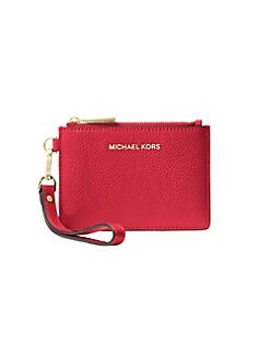 1af47b0e323a5f QUICK VIEW. MICHAEL Michael Kors. Small Pebbled Leather Coin Purse