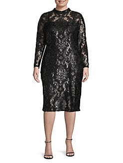 b738ccc53d85 QUICK VIEW. RACHEL Rachel Roy. Plus Foil Print Sheath Dress