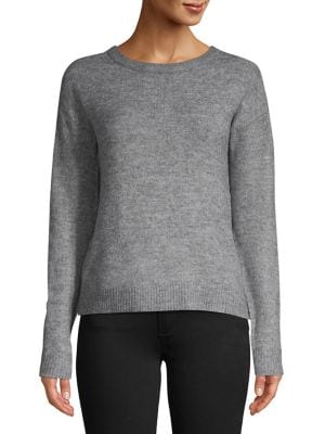 Long-Sleeve V-Back Sweater...