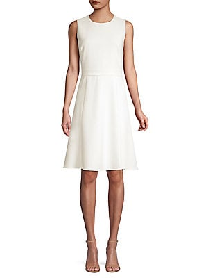 8881f172ff0 KOBI HALPERIN - Ezra Banded A-Line Dress
