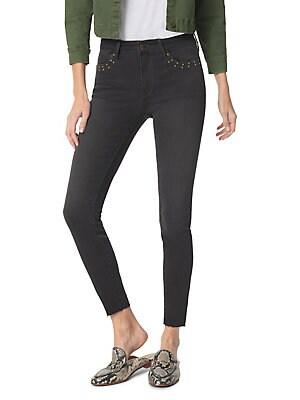 2e07c03c218 Sam Edelman - Tateum Kitten Ankle Skinny Jeans. Mid-rise skinny ...