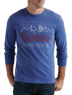 aefd424a82 QUICK VIEW. Lucky Brand. Regular-Fit Long-Sleeve Coors Graphic Tee