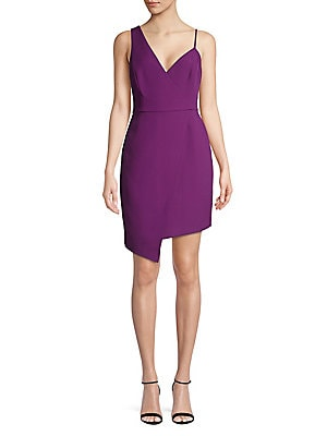 1cbd4cae97 BCBGMAXAZRIA - Layla Asymmetrical Pleather Dress - lordandtaylor.com