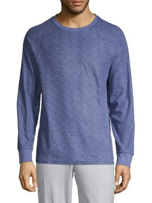 Image of Raglan-Sleeve Pajama Top