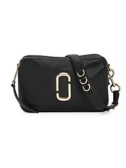 a1e1ada51808 QUICK VIEW. Marc Jacobs. The Softshot 27 Leather Crossbody Bag