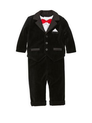 Baby Boys ThreePiece Bodysuit Jacket  Pants Set
