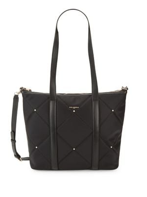 Quincy Quilted Tote @...