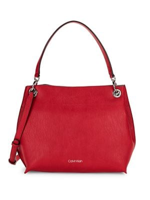 Raya Leather Hobo Bag...