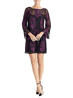 16d6fd508fd QUICK VIEW. RACHEL Rachel Roy. Madeline Bell-Sleeve Lace Shift Dress