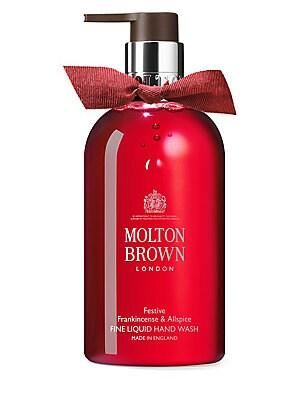 c6cd53370376 Molton Brown - Festive Frankincense   Allspice Fine Liquid Hand Wash ...