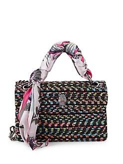 Product image. QUICK VIEW. Kurt Geiger London. Kensington Tweed   Scarf Shoulder  Bag 0b78b1d35e359