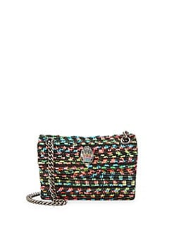 b35a7206e9a7 Product image. QUICK VIEW. Kurt Geiger London. Mini Kensington Tweed  Crossbody.  119.00 · Kensington Embellished Floral Shoulder Bag GREEN