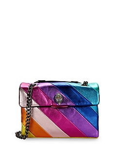 4cc1191afeca Product image. QUICK VIEW. Kurt Geiger London. Kensington Rainbow Leather Shoulder  Bag