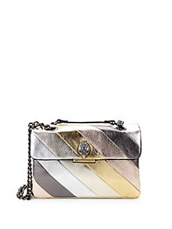 05bbf69bd488 Product image. QUICK VIEW. Kurt Geiger London. Soho Metallic Leather Shoulder  Bag.  229.00 · Mini Kensington Metallic Leather Crossbody METALLIC