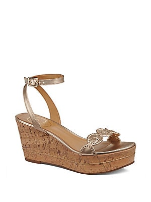 9266ca8bbae Jack Rogers - Keri Leather Cork Platform Sandals