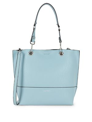 Sonoma Leather Tote with...