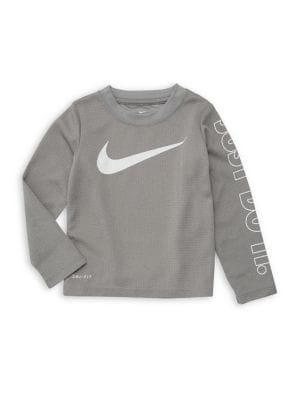 Little Boy's Logo Sweater...
