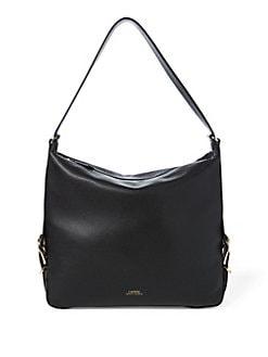 77dc931ec6 Top Zip Hobo Bag BLACK. QUICK VIEW. Product image. QUICK VIEW. Lauren Ralph  Lauren