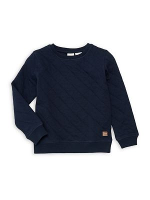 Boy's Quilted Sweater...