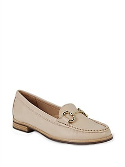 c60269d481f QUICK VIEW. Carvela. Leather Ring-Strap Loafers.  125.00 · Billy Textured Oxfords  BLACK LEATHER