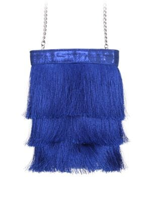 Caracas Long Fringe Bucket Bag 500088890042