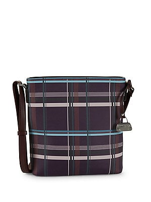 8452d340a45a Mark Adam New York - Plaid Leather Crossbody