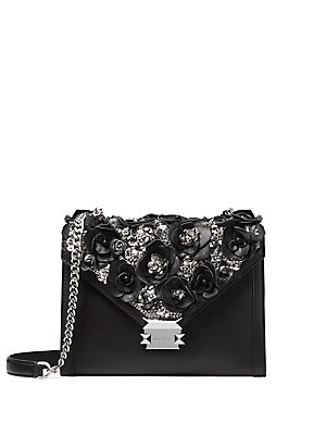 8823925e411c MICHAEL Michael Kors - Large Whitney Floral Leather Shoulder Bag -  lordandtaylor.com