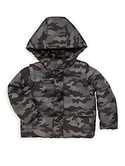 546ce60d5faaa QUICK VIEW. Andy & Evan. Little Boy's Camo Convertible Puffer Jacket