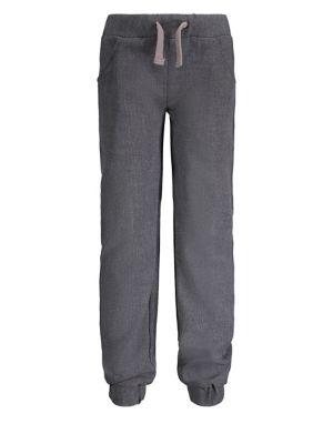Little Boys Dapper Dude Pinstripe Suit Jogger Pants