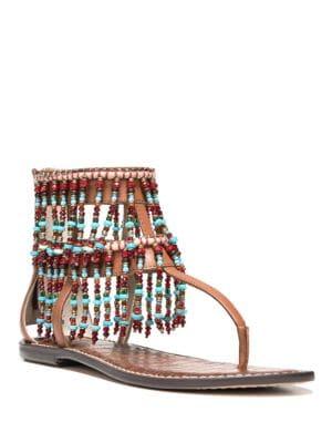 Gabriel Leather Thong Sandals by Sam Edelman