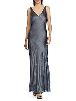 aefdc38c4592 ... Gown BLACK NAVY. QUICK VIEW. Product image. QUICK VIEW. Lauren Ralph  Lauren