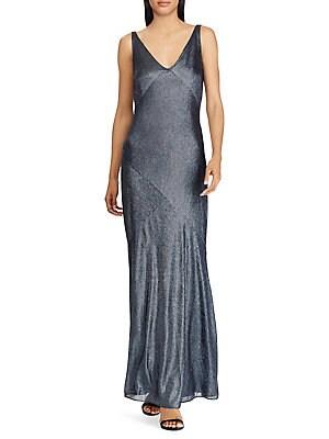 8674f9d73d5 Lauren Ralph Lauren - Cape-Overlay Chiffon Dress - lordandtaylor.com