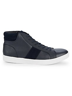 35a1d2077c7 QUICK VIEW. Calvin Klein. Ignotus Smooth Leather Sneakers