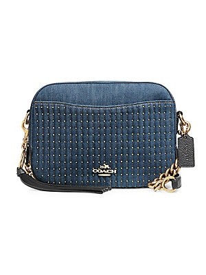 cd953eabbca6 Chaise In Signature Canvas Crossbody Bag.  250.00 · COACH - Studded Denim  Camera Bag